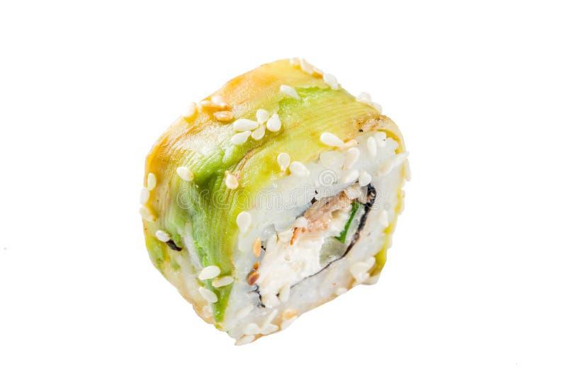 Naadloos patroon met sushi royalty-vrije stock foto's