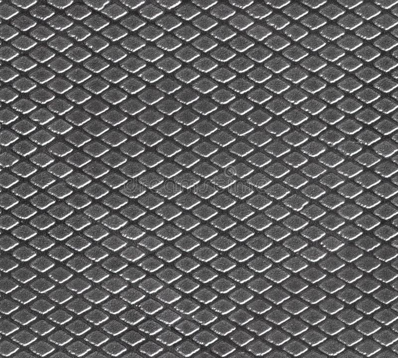 Naadloos patroon met textuur van metaal stock afbeelding