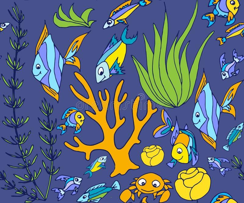 tropisch vissen vlak pictogram vector illustratie