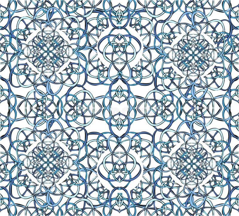 Naadloos patroon van de lijn royalty-vrije illustratie