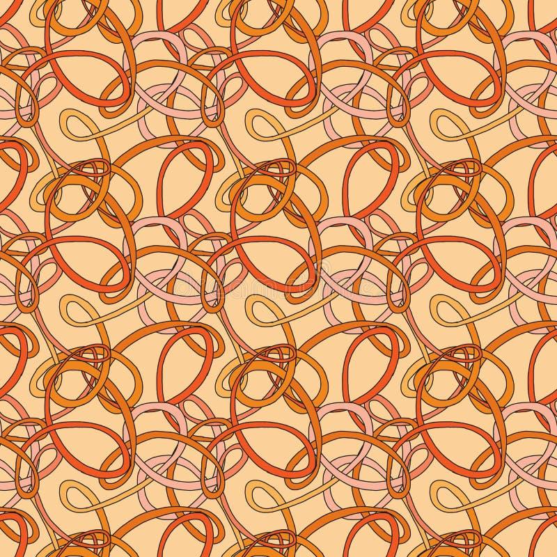Naadloos patroon van de lijn vector illustratie