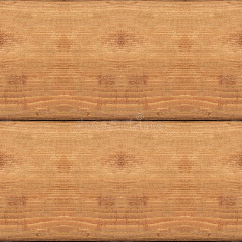 Naadloos patroon van geweven houten plankmuur met schors royalty-vrije stock foto