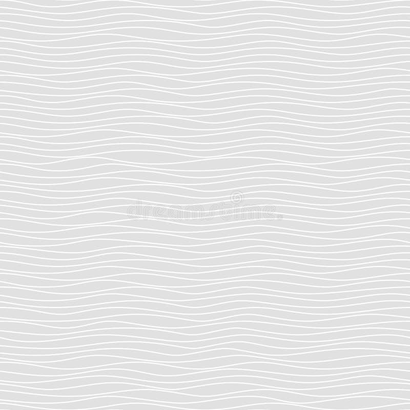 Naadloos patroon van golvende lijnen Geometrische Achtergrond royalty-vrije stock foto's