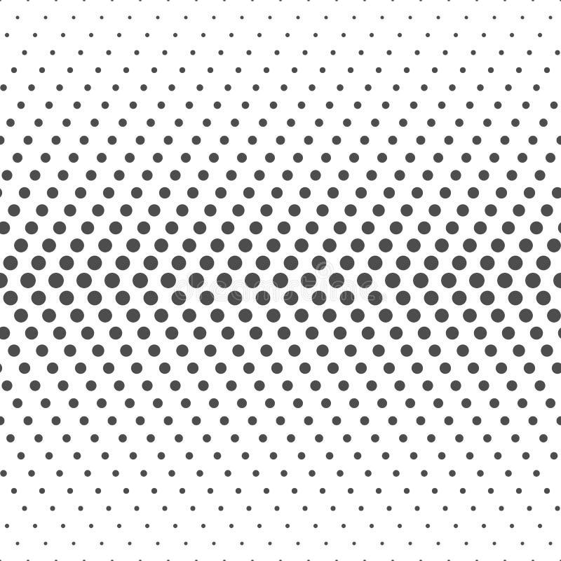 Naadloos Patroon van punten Gestippeld behang stock afbeeldingen
