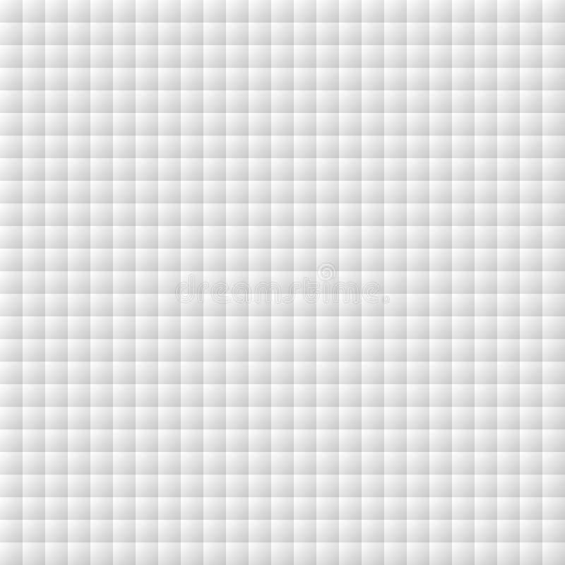 Naadloos patroon van vierkanten abstracte achtergrond stock illustratie