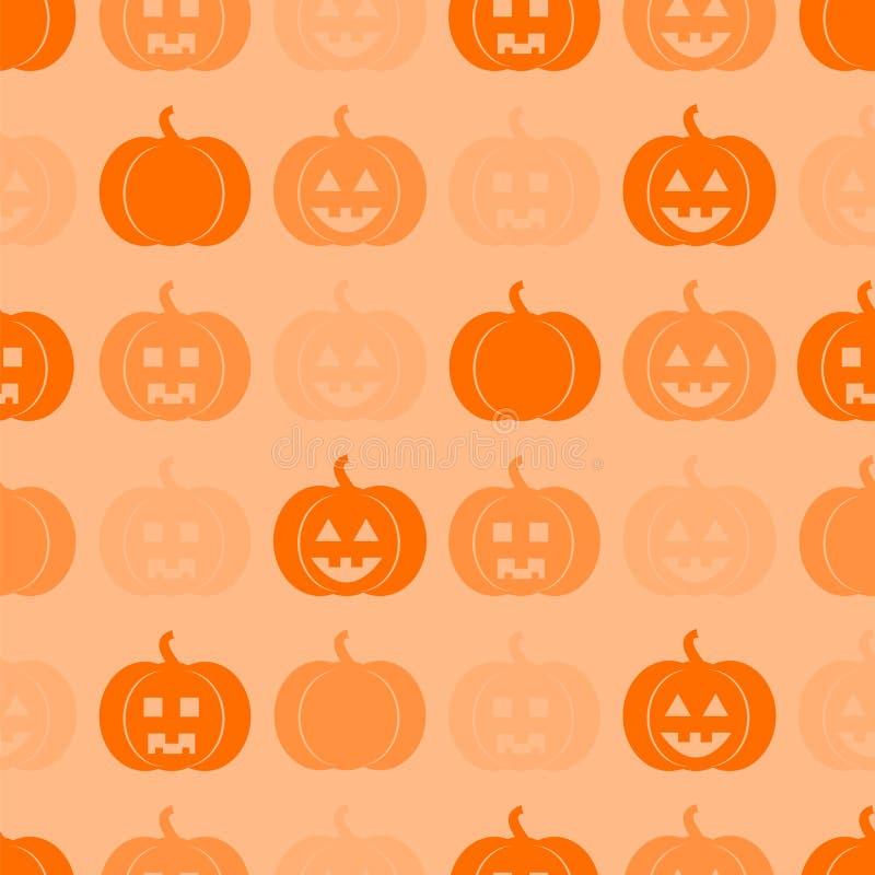 Naadloos patroon voor Halloween vector illustratie