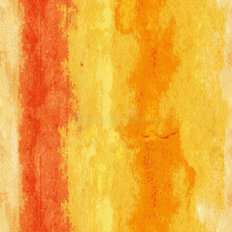 Naadloos patroon: warme kleurengradiënt voor het maken van stoffendruk vector illustratie