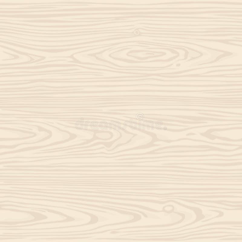 Naadloos patroonhout Vector Zwart-wit Illustratie stock illustratie
