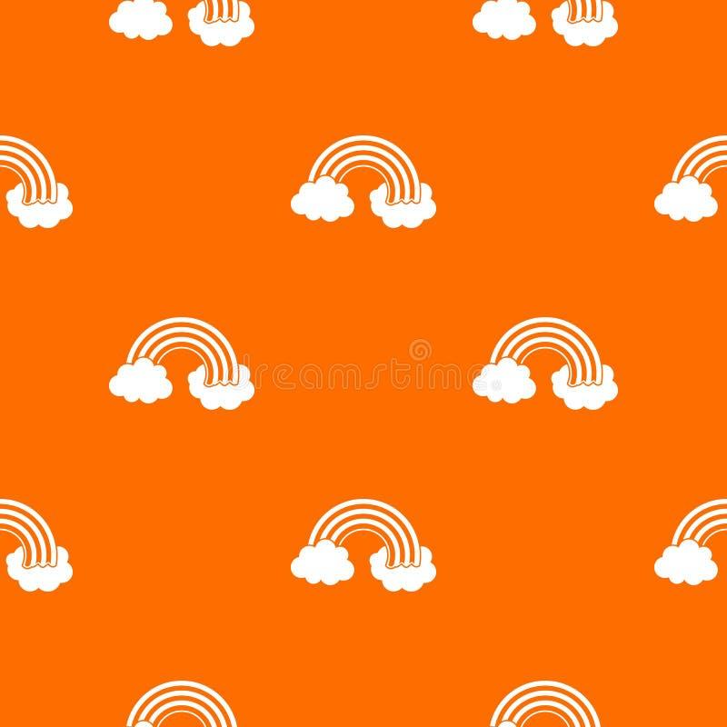 Naadloos regenbooglgbt patroon stock illustratie
