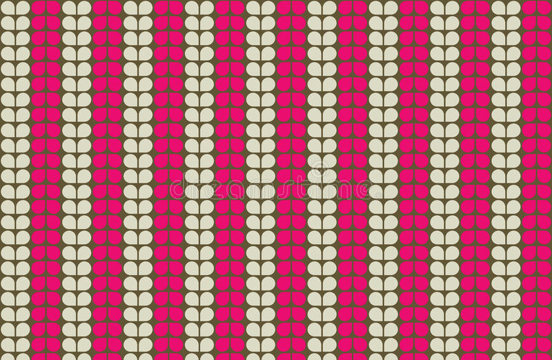 Naadloos roze stock foto's