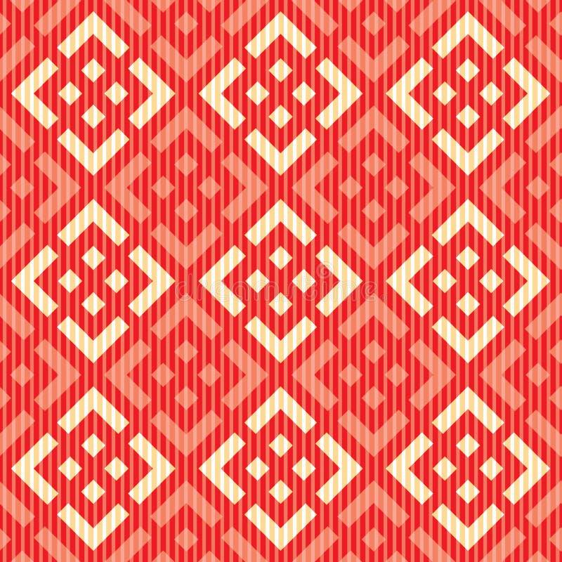 Naadloos Russisch patroon stock illustratie