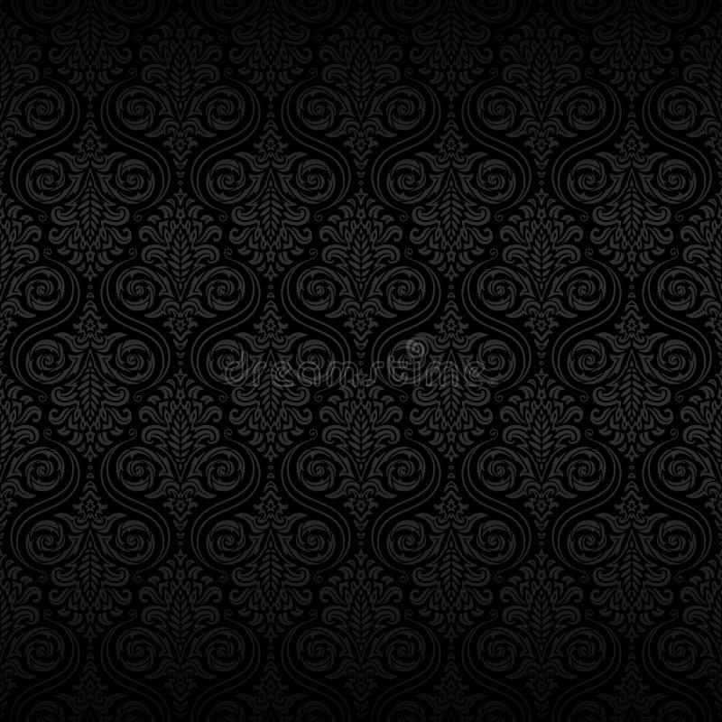 Naadloos SierPatroon royalty-vrije stock afbeeldingen