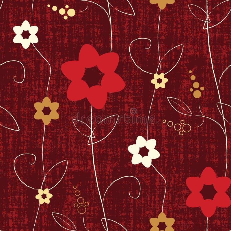 Naadloos Sjofel Elegant Patroon stock illustratie