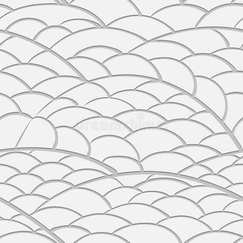 Naadloos textuur het bedekken gebied van document royalty-vrije illustratie