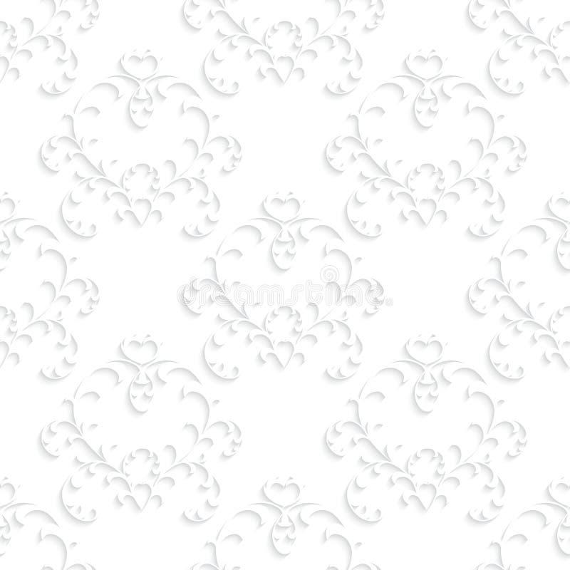Naadloos textuurbehang in de stijl van stock illustratie