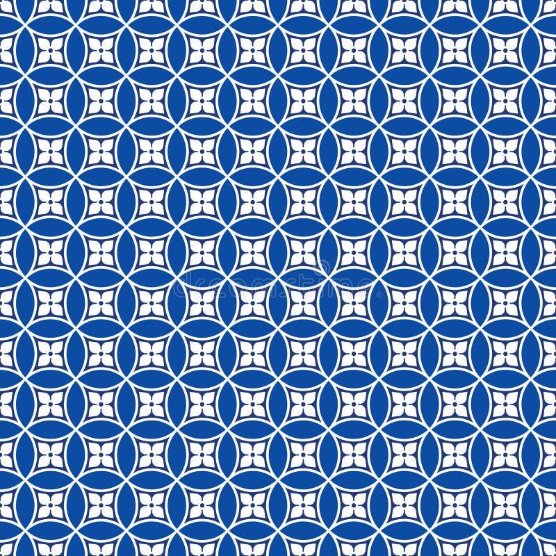 Naadloos traditioneel Japans uitstekend patroon stock illustratie