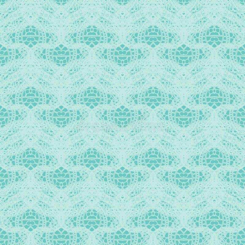 Naadloos uitstekend kantpatroon Gevoelig teder patroon royalty-vrije illustratie