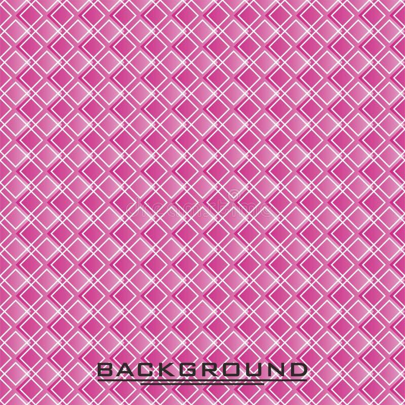 Naadloos vector violet ruitpatroon Achtergrond stock foto's
