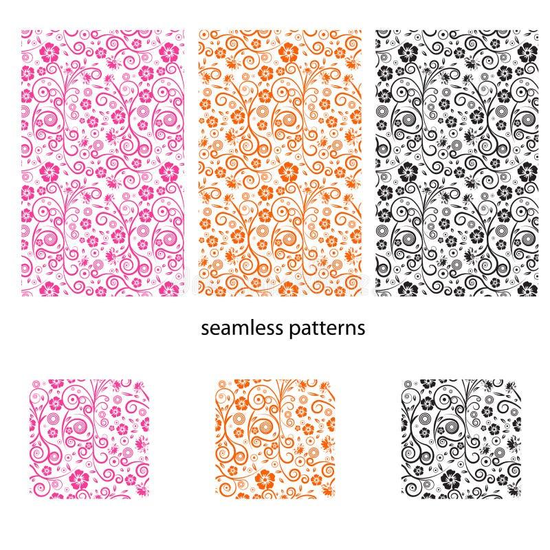 Naadloos vectorontwerppatroon royalty-vrije illustratie