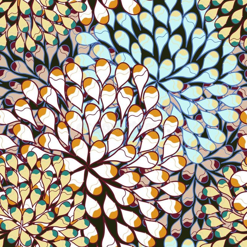Naadloos vectorpatroon royalty-vrije illustratie