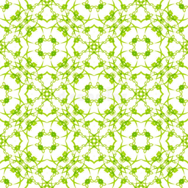 Naadloos vectorwervelingspatroon Moderne textuur royalty-vrije illustratie