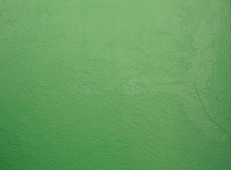 Naadloos vers geschilderd groen gekleurd huis binnenlands architectuurontwerp, ruwe grunge duidelijke tropische geweven gepleiste royalty-vrije stock afbeeldingen