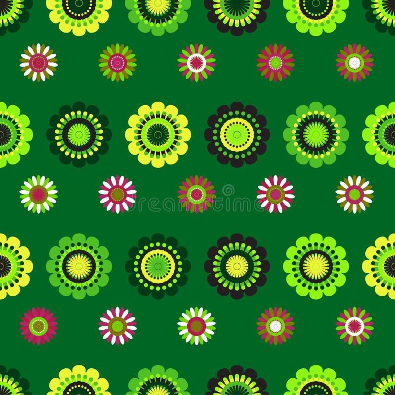 Naadloos volks decoratief ornament vector illustratie