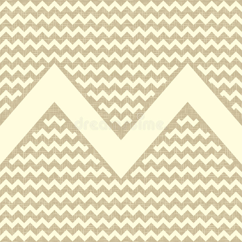 Naadloos zigzagpatroon. royalty-vrije illustratie