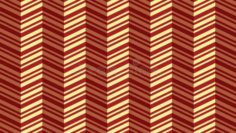 Naadloos zigzagpatroon royalty-vrije illustratie