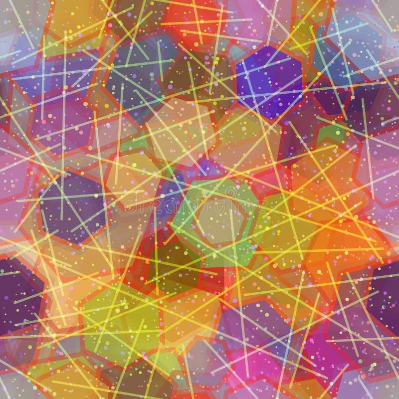 Naadloze abstracte achtergrond vector illustratie