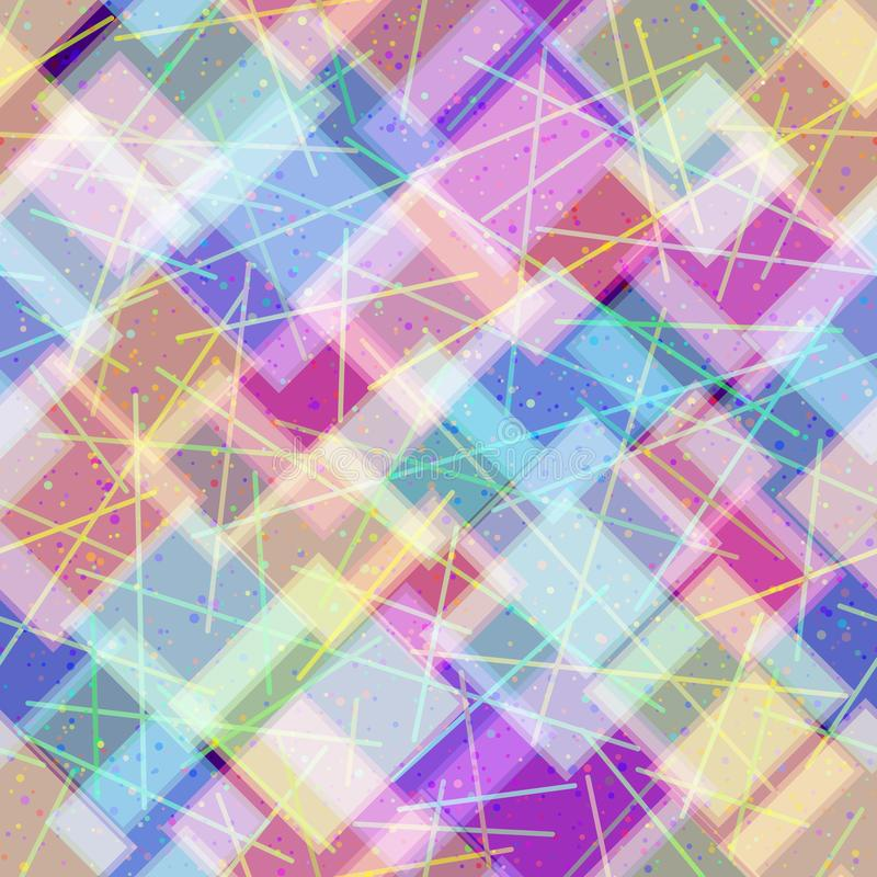 Naadloze abstracte achtergrond stock illustratie