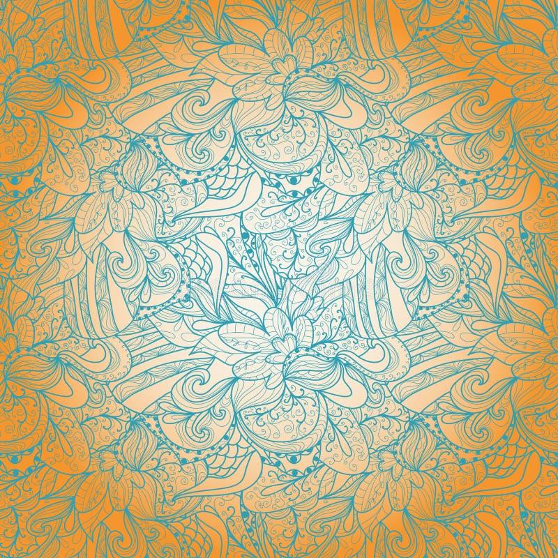 Download Naadloze Abstracte Hand-drawn Textuur Stock Illustratie - Illustratie bestaande uit illustratie, stroom: 39105756