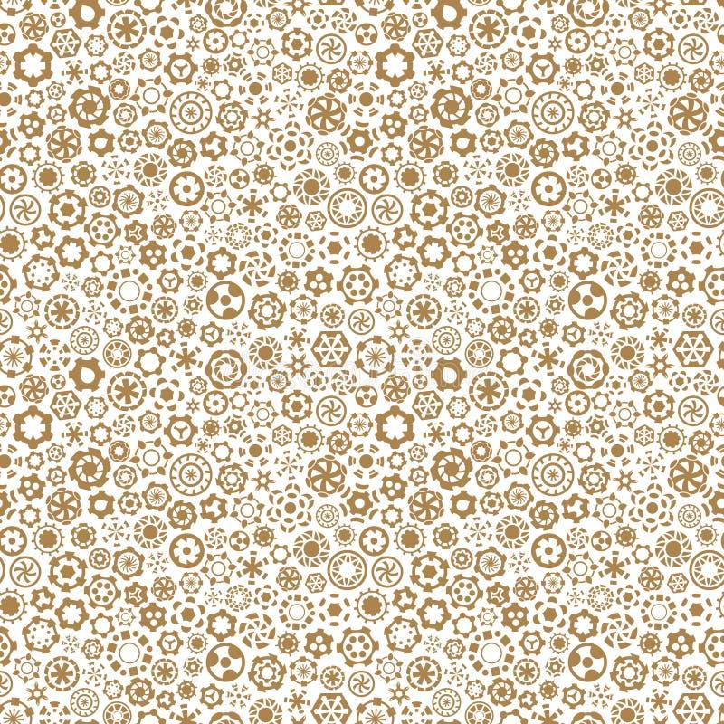 Naadloze Achtergrond Abstracte Illustratie Eenvoudig grafisch ontwerp Patroon voor textieldruk, verpakking stock foto
