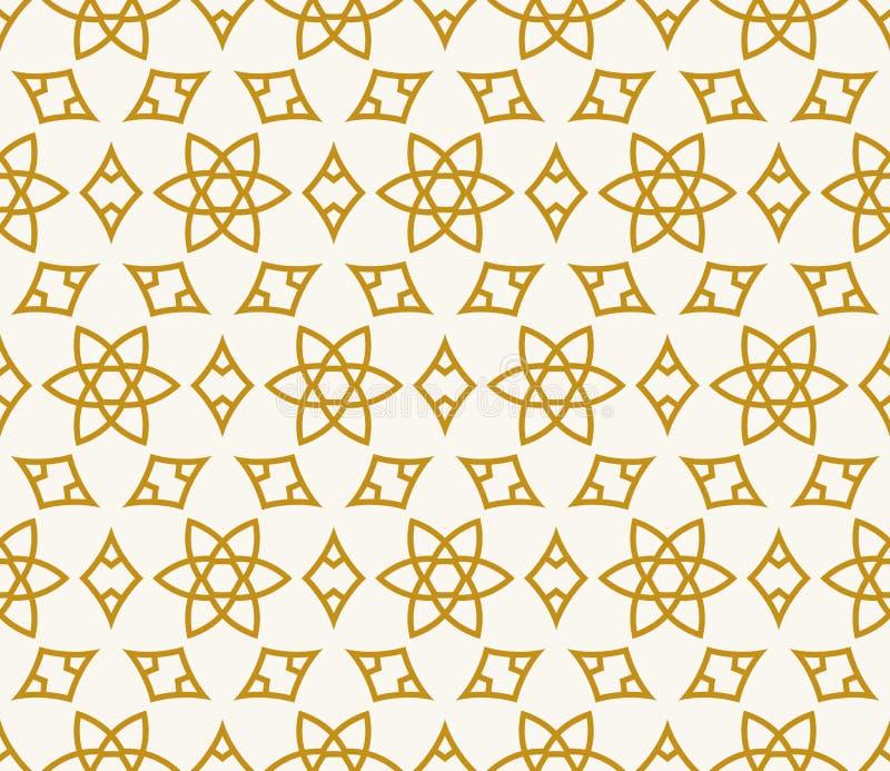 Naadloze achtergrond in Arabische stijl vector illustratie