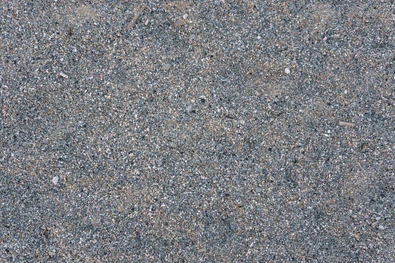 Naadloze achtergrond die van grijze kiezelstenen wordt gemaakt royalty-vrije stock foto's