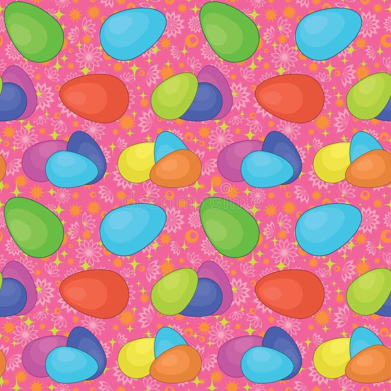 Download Naadloze Achtergrond, Paaseieren Vector Illustratie - Illustratie bestaande uit motley, viering: 29501653