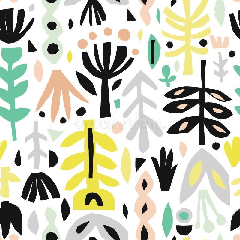 Naadloze achtergrond van kleurrijk abstract patroon vector illustratie