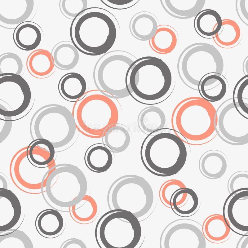 Naadloze achtergrond van krullen vector illustratie