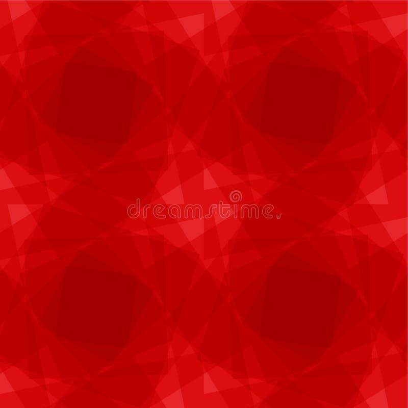 Naadloze achtergrond van vierkanten vector illustratie