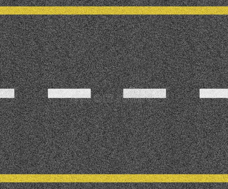 Naadloze asfalttextuur stock foto's