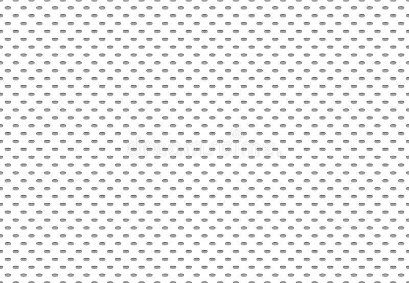 Naadloze atletische stoffentextuur Sportenstoffen, het textielnetwerk van de sportdoek en het materiële vectorpatroon van de voet vector illustratie