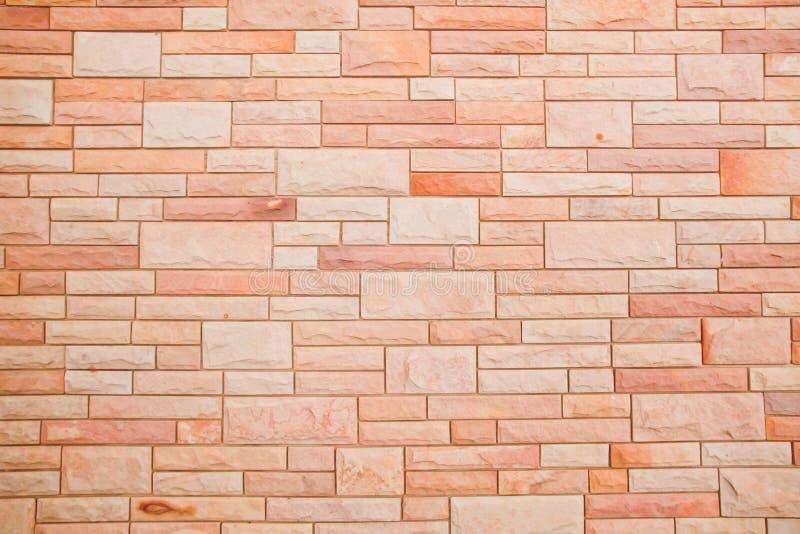Naadloze bakstenen muurtextuur stock foto