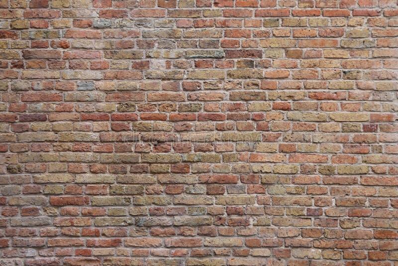 Naadloze bakstenen muurtextuur royalty-vrije stock afbeelding