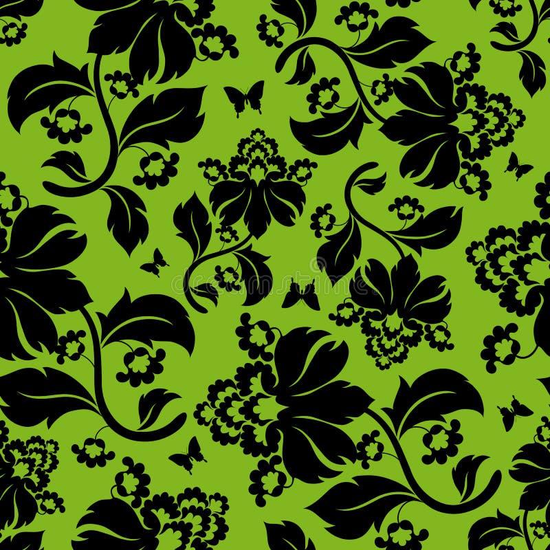 Naadloze bloemenachtergrond. stock illustratie