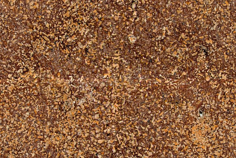 Naadloze bruine textuur van roggebrood royalty-vrije stock fotografie