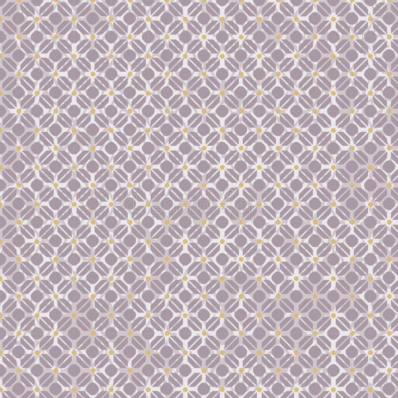 Download Naadloze De Bloemachtergrond Van De Diamantcontrole Vector Illustratie - Illustratie bestaande uit vector, willekeurig: 54090468