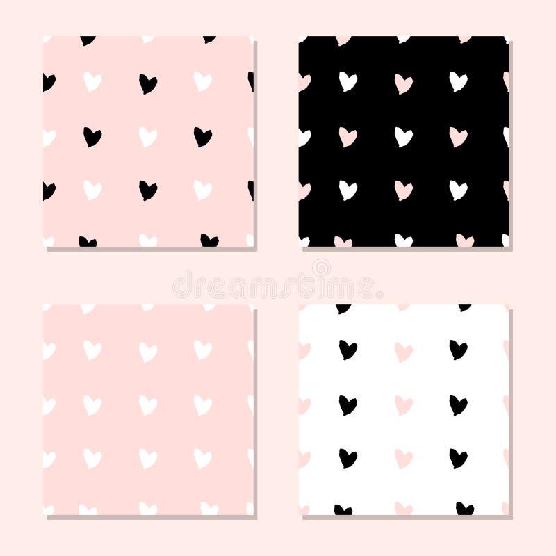 Download Naadloze De Dag Van Valentine S Stock Illustratie - Illustratie bestaande uit patroon, decoratie: 107704316