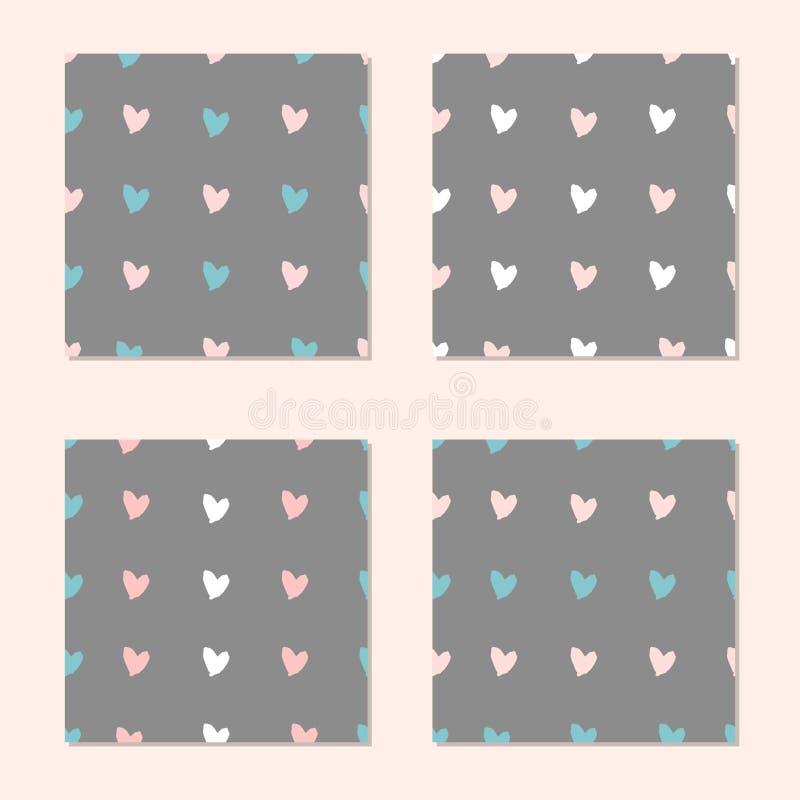 Download Naadloze De Dag Van Valentine S Stock Illustratie - Illustratie bestaande uit baby, gelukkig: 107704328