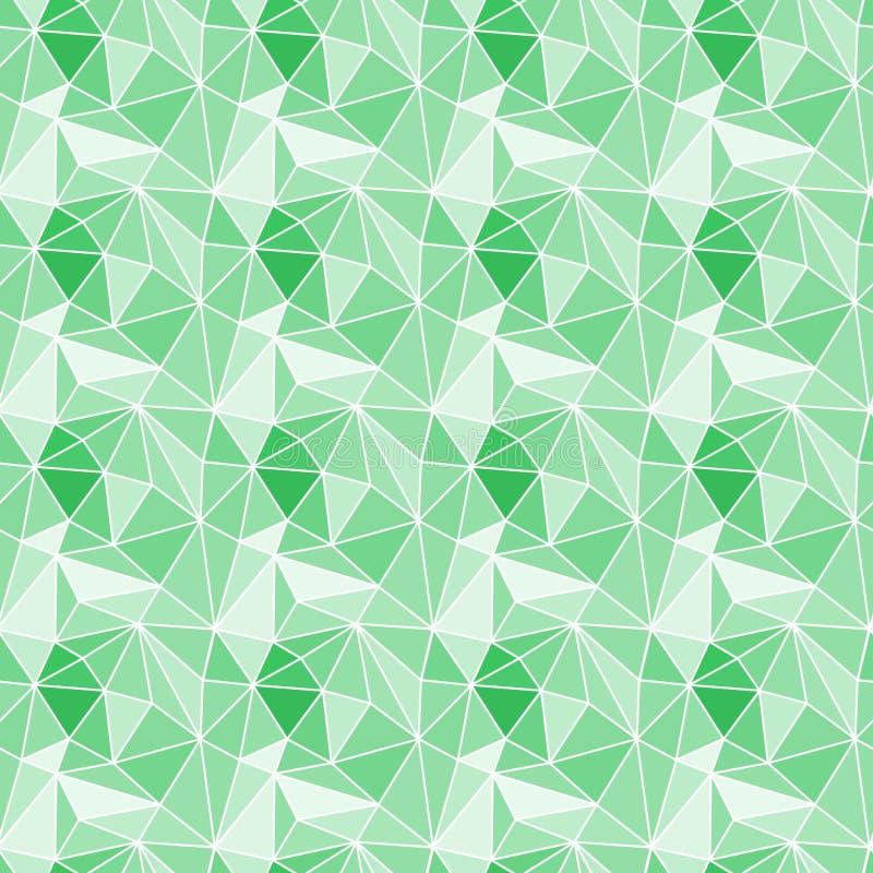 Naadloze de stenenachtergrond van de driehoekengem royalty-vrije illustratie