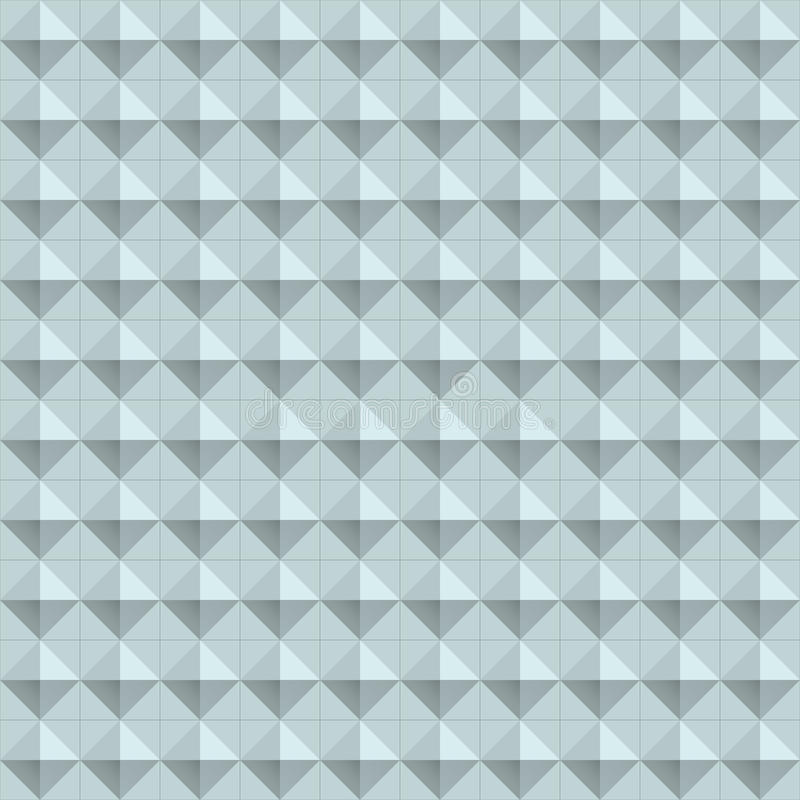 Naadloze de textuur van de meetkunde royalty-vrije illustratie